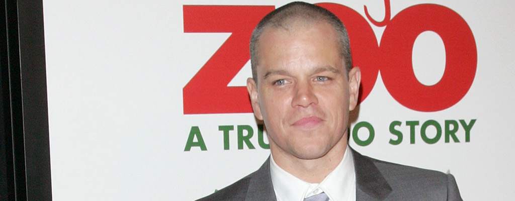 Matt Damon (Jim Spellman/Wireimage)