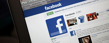 Facebook profile page (Getty Images)