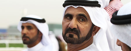 File photo of Sheikh Maktoum bin Rashid Al Maktoum (Chris Jackson/Getty Images)