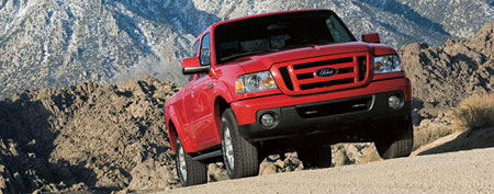 Ford Ranger pickup truck (Ford)