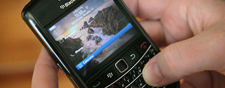 BlackBerry phone (Getty Images)