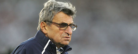 Joe Paterno (Photo by Charles LeClaire/Getty Images)