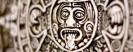 Sunstone modeled on Mayan calendar (Thinkstock)