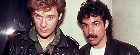 Hall & Oates on 11/23/79 in Chicago, Il. (Photo by Paul Natkin/WireImage)