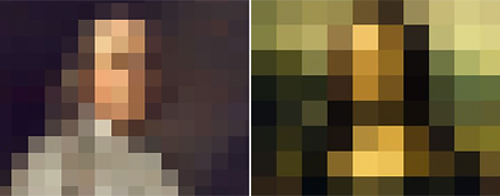 Pixelated photos. (Yahoo!)