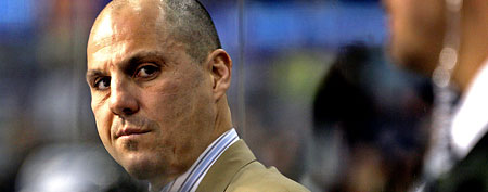 Rick Tocchet. (AP Photo/Chris O'Meara)