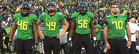Oregon players (Getty Images)