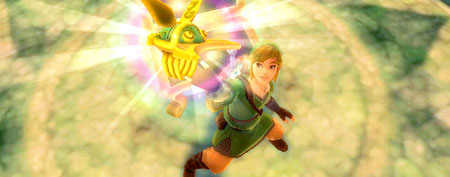 Legend of Zelda: Skyward Sword. (Nintendo)