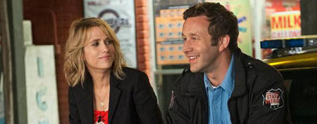 Kristen Wiig and Chris O'Dowd in Universal Pictures' Bridesmaids