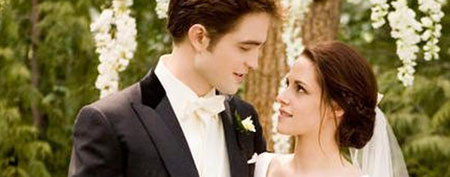 Robert Pattinson and Kristen Stewart in Summit Entertainment's The Twilight Saga: Breaking Dawn - Part 1