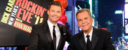 Dick Clark, right, and Ryan Seacrest (AP Photo/ABC, Ida Mae Astute)