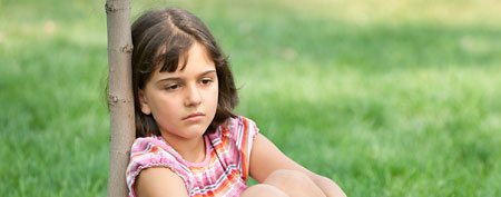 Sad kid (Thinkstock)