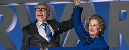 "Jim Broadbent and Meryl Streep in The Weinstein Company's ""The Iron Lady"""