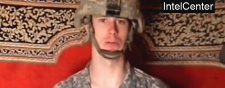 Taliban propaganda video purportedly showing U.S. soldier Pfc. Bowe Bergdahl (AP via IntelCenter)