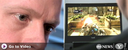 Tobii's eye-tracking technology (ABC)