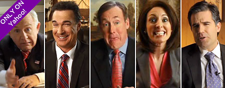 GOP candidate impersonators (Yahoo!/Funny or Die)