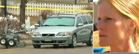 (L-R) Robot inspects car, file image of Allyson Stone (GMA)