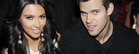 Kim Kardashian and Kris Humphriescelebrate Kim Kardashian's birthday at Marquee Nightclun at the Cosmopolitan in CityCenter on October 22, 2011 in Las Vegas, Nevada. (Photo by Denise Truscello/WireImage)