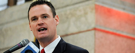 Pittsburgh Mayor Luke Ravenstahl (Photo by Jeff Swensen/Getty Images for (RED)