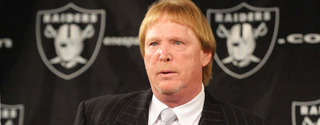Oakland Raiders owner Mark Davis (Kirby Lee/Image of Sport-US PRESSWIRE)