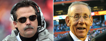 Jeff Fisher (Getty Images), Dolphins owner Stephen Ross (Getty Images)