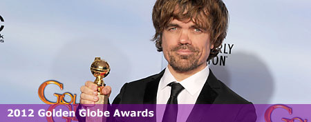 Peter Dinklage at the 2012 Golden Globe Awards (Kevin Winter/Getty Images)