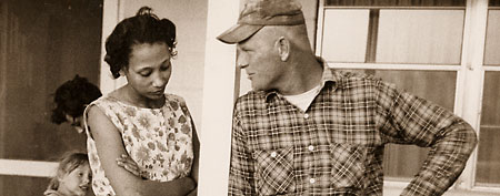 Richard and Mildred Loving. (Photo by: Grey Villet)