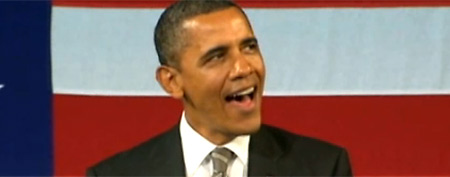 President Barack Obama at the Apollo Theater (ABC News)