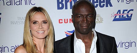 Heidi Klum and Seal attend BritWeek Gala Dinner Benefiting LA's BEST 'Joy Of Reading' at L.A. Live Event Deck on April 28, 2011 in Los Angeles, California. (Photo by Craig Barritt/WireImage)