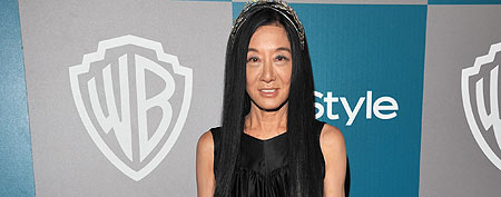 Designer Vera Wang arrives at the 13th Annual Warner Bros. and InStyle Golden Globe After Party held at The Beverly Hilton hotel on January 15, 2012 in Beverly Hills, California. (Photo by Lester Cohen/WireImage)