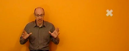 Richard Wiseman. (Screengrab/YouTube/Quirkology)
