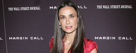 Actress Demi Moore attends the 'Margin Call' premiere at the Landmark Sunshine Cinema on October 17, 2011 in New York City. (Photo by Jim Spellman/WireImage)