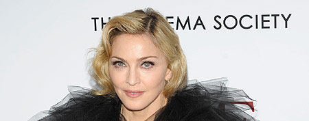 Madonna attends The Weinstein Company with The Cinema Society & Forevermark premiere of 'W.E.' at the Ziegfeld Theater on January 23, 2012 in New York City. (Ilya S. Savenok/FilmMagic)
