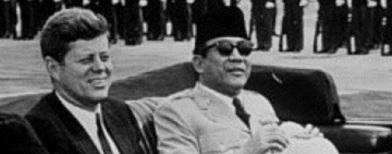 JFK dan Soekarno (Foto: Republika)