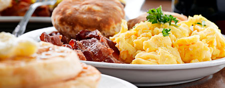 Breakfast plate.  (ThinkStock)