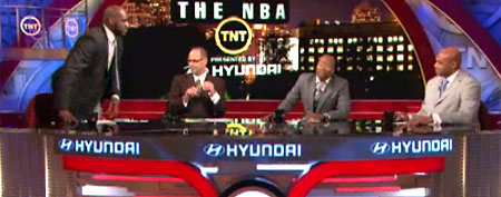 Shaq's funny TV moment (Yahoo! Sports Blog)