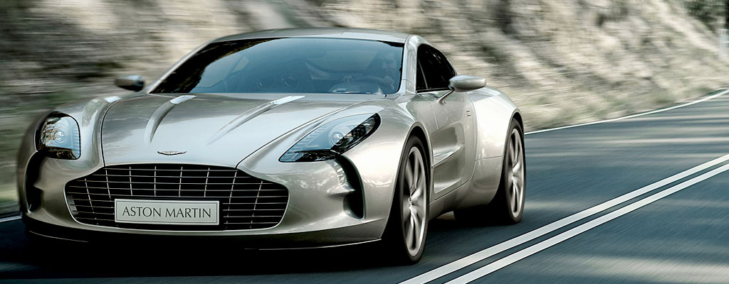 Aston Martin One-77. (Courtesy Aston Martin)