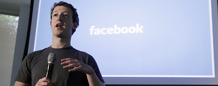 Facebook CEO Mark Zuckerberg speaks at Facebook headquarters in Palo Alto, Calif., (AP Photo/Marcio Jose Sanchez)