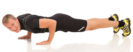 Man doing pushups (Thinkstock)