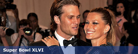 Tom Brady and Gisele Bundchen. (Photo by Kevin Mazur/WireImage)