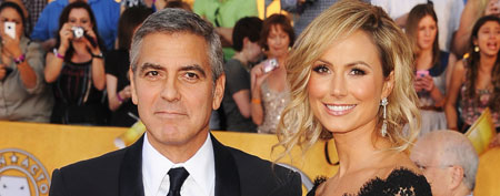 George Clooney (L) and Stacy Keibler  (Steve Granitz/WireImage)