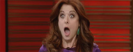 Debra Messing (Live! With Kelly)