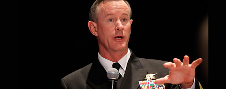 Navy Adm. Bill McRaven, commander of the U.S. Special Operations Command (AP/Charles Dharapak)