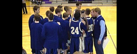 The Brentwood boys basketball team.  (BeRecruited)