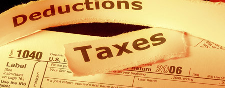 Tax deductions (Thinkstock)