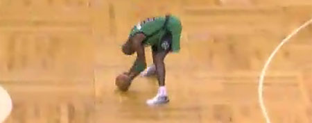 Kevin Garnett (Screen grab courtesy of Yahoo! Sports Blogs)