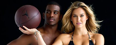 Chris Paul, Bar Refaeli (SI)