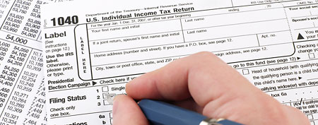 Tax form. (iStockphoto)