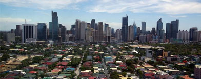 More urban centers outside Metro Manila?