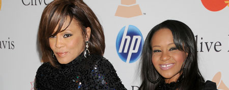 Whitney Houston and daughter Bobbi Kristina Brown (Gregg DeGuire/FilmMagic)